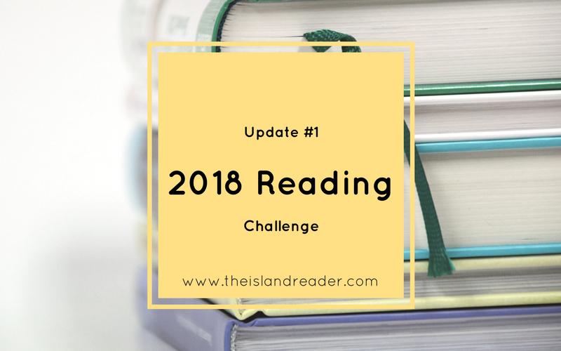 Update 01: 2018 Reading Challenge