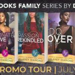 Book Tour: Brooks Family Series by Delaney Diamond